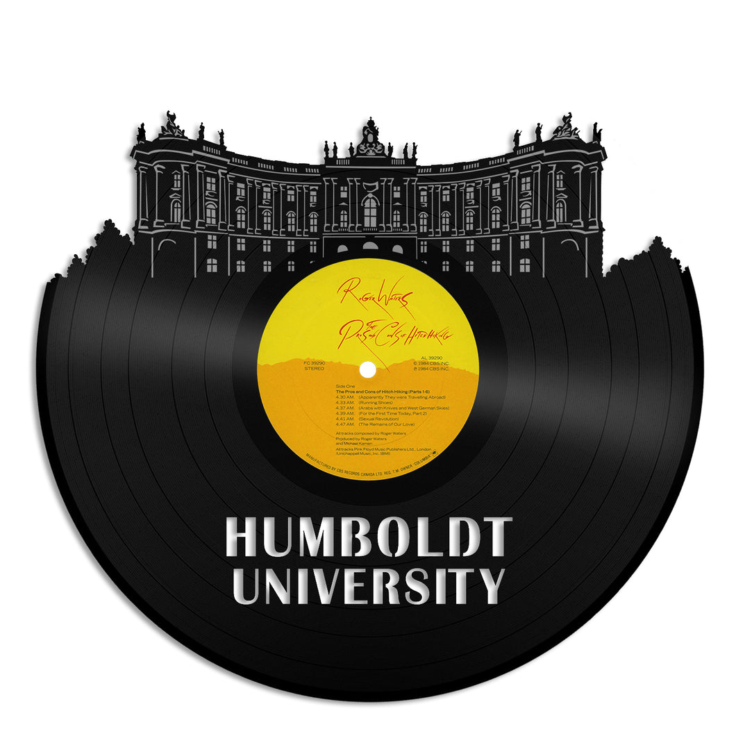 Humboldt University of Berlin Vinyl Wall Art - VinylShop.US