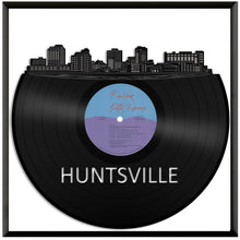 Huntsville Alabama skyline Vinyl Wall Art - VinylShop.US