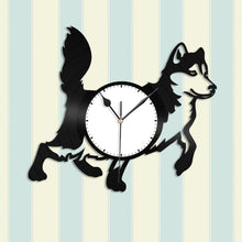 Husky Dog Vinyl Wall Clock - VinylShop.US