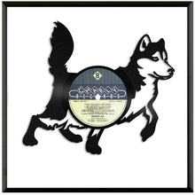 Husky Dog Vinyl Wall Art - VinylShop.US