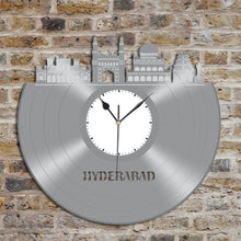 Hyderabad Skyline Vinyl Wall Clock - VinylShop.US