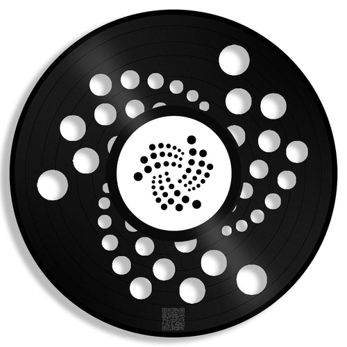 Iota Coin Wall Art - VinylShop.US