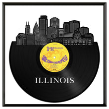 Illinois Vinyl Wall Art