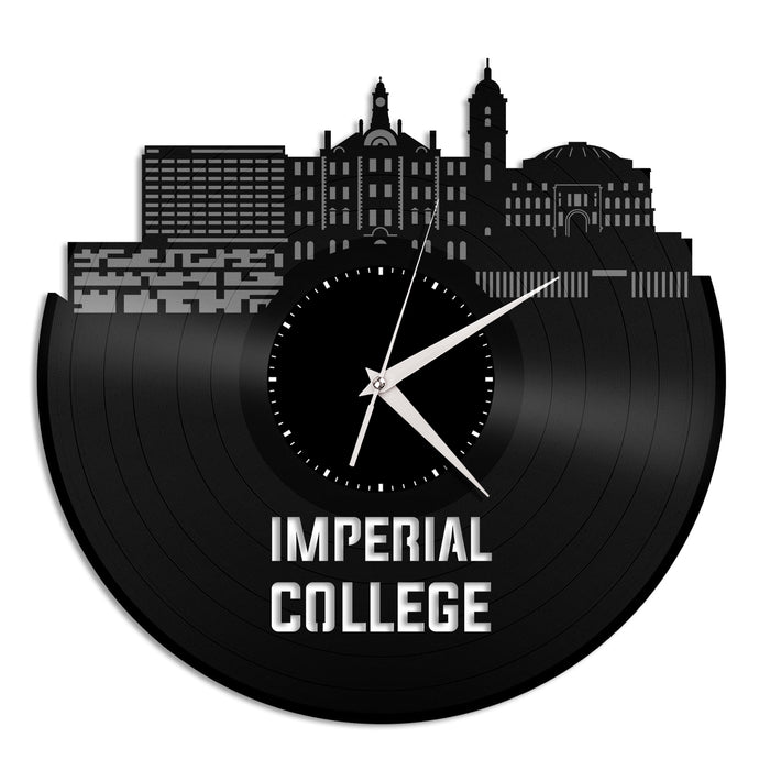 Imperial College Vinyl Wall Clock - VinylShop.US