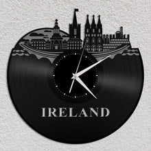 Ireland Skyline Vinyl Wall Clock - VinylShop.US