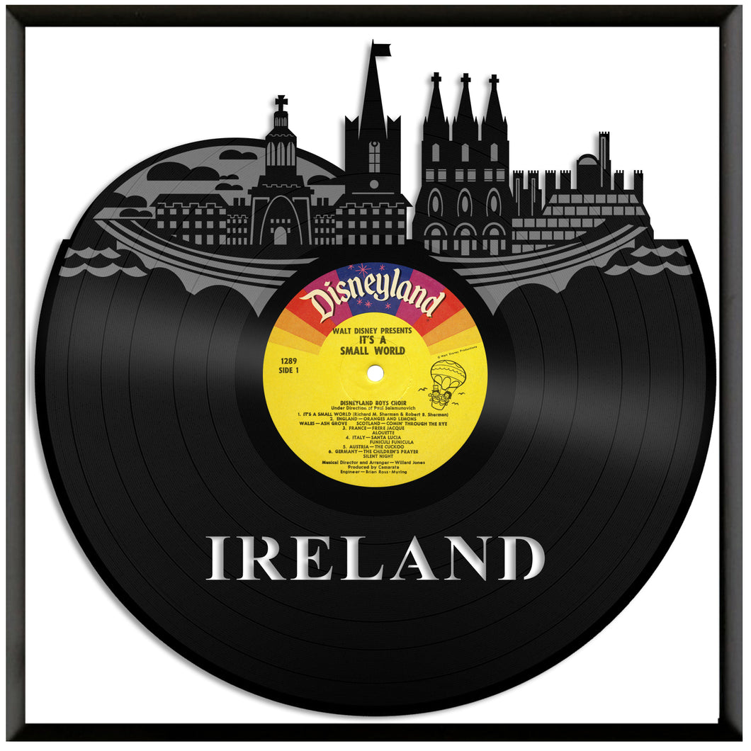 Ireland Skyline Vinyl Wall Art – VinylShop.US
