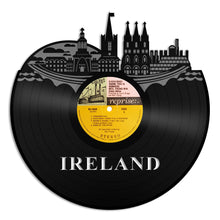 Ireland Skyline Vinyl Wall Art - VinylShop.US