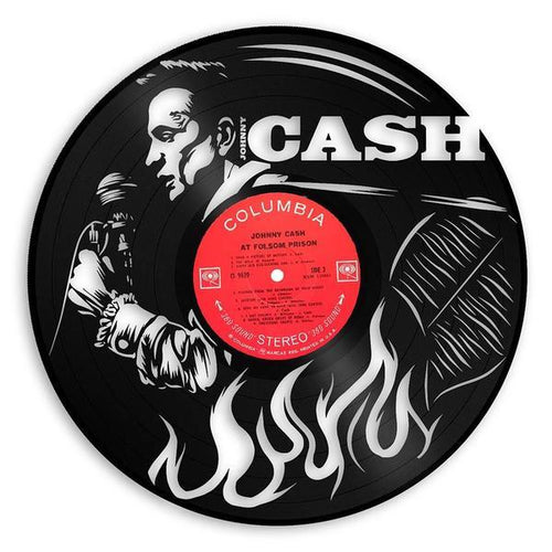 Johnny Cash Vinyl Wall Art - VinylShop.US