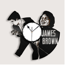 James Brown Vinyl Wall Clock - VinylShop.US