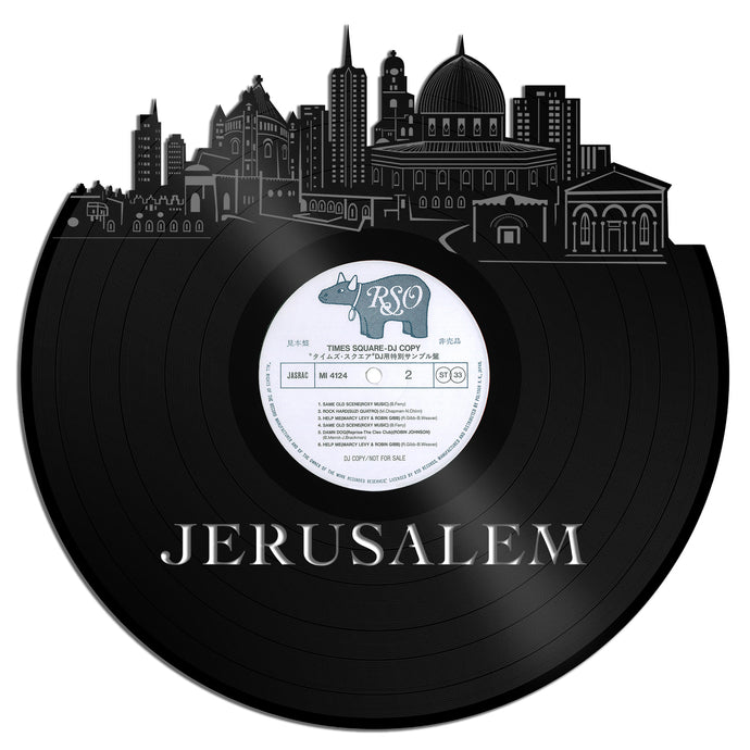 Jerusalem Vinyl Wall Art - VinylShop.US