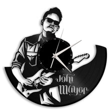 John Mayer Vinyl Wall Clock - VinylShop.US