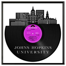 Johns Hopkins University Vinyl Wall Art