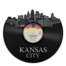 Kansas City Skyline Vinyl Wall Art - VinylShop.US