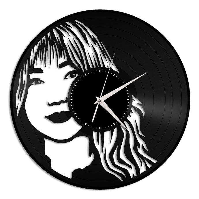 Kei Vinyl Wall Clock