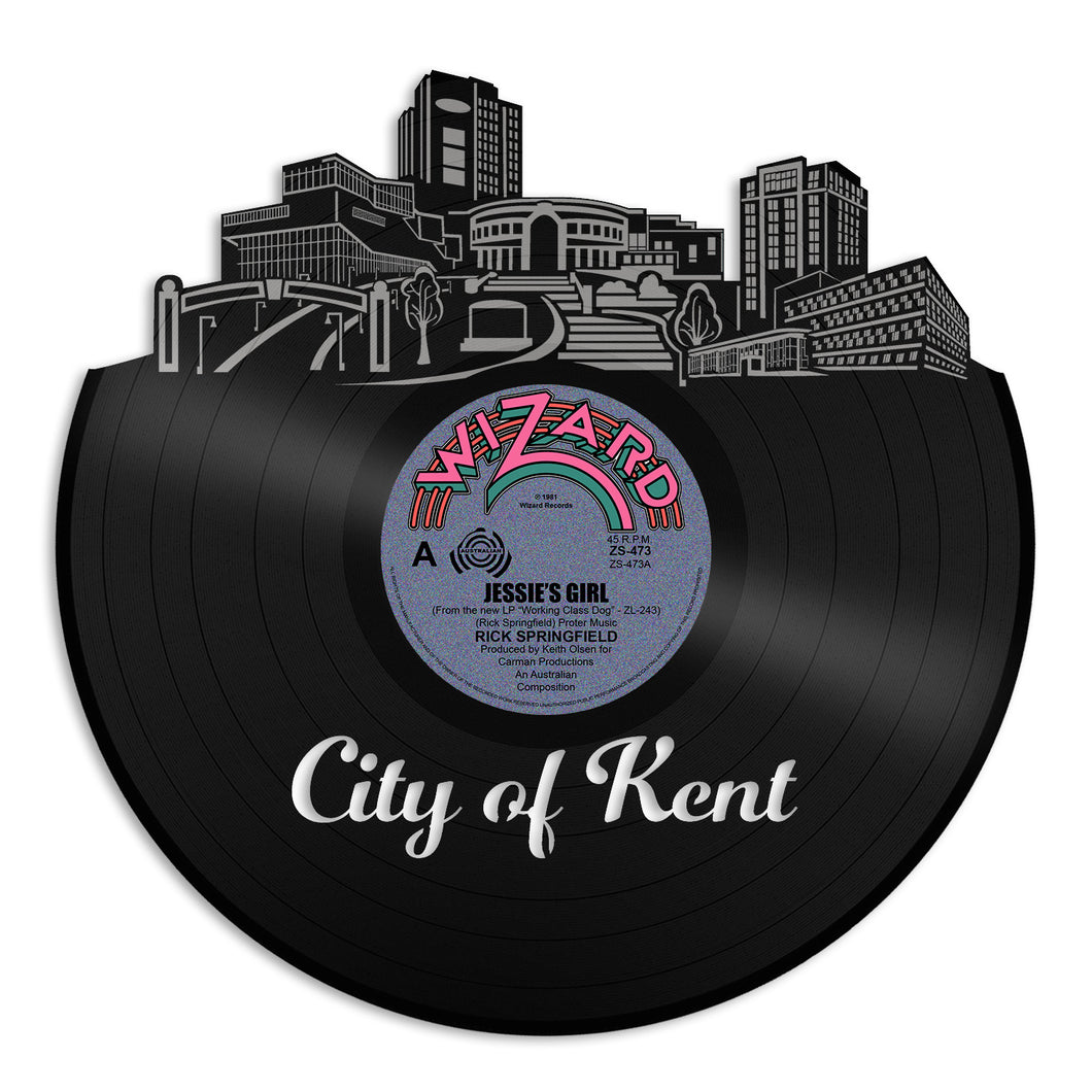 Kent Ohio Vinyl Wall Art