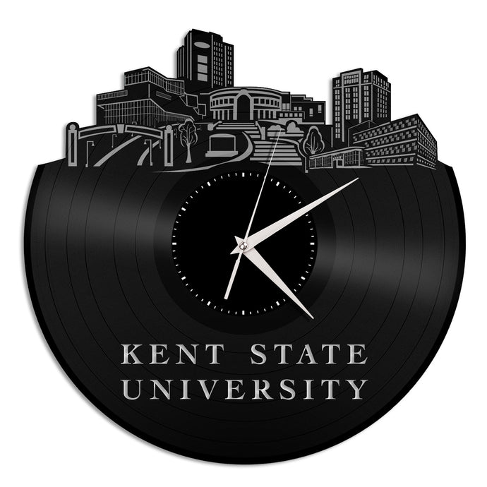 Kent State University Vinyl Wall Clock - VinylShop.US