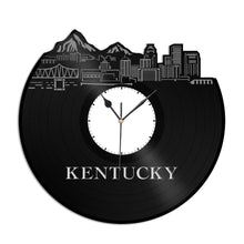 Kentucky Vinyl Wall Clock