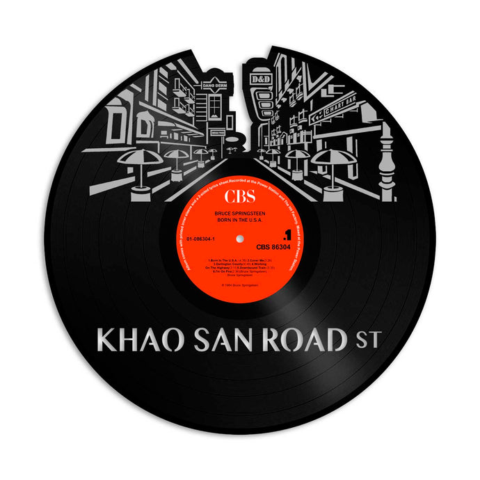 Khao San Road Street Vinyl Wall Art
