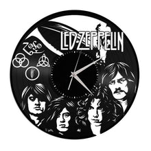 Unique Vinyl Wall Clock Led Zeppelin