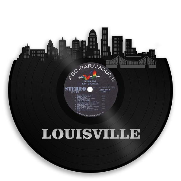 Louisville Skyline Vinyl Wall Art - VinylShop.US