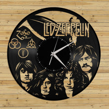 Led Zeppelin Vinyl Wall Clock - VinylShop.US