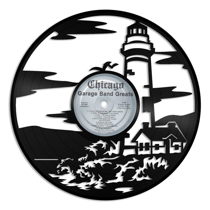 Lighthouse Vinyl Wall Art - VinylShop.US