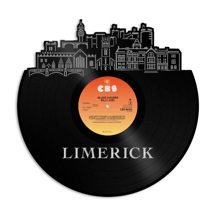 Limerick Ireland Vinyl Wall Art