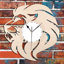 Lion Vinyl Wall Clock - VinylShop.US