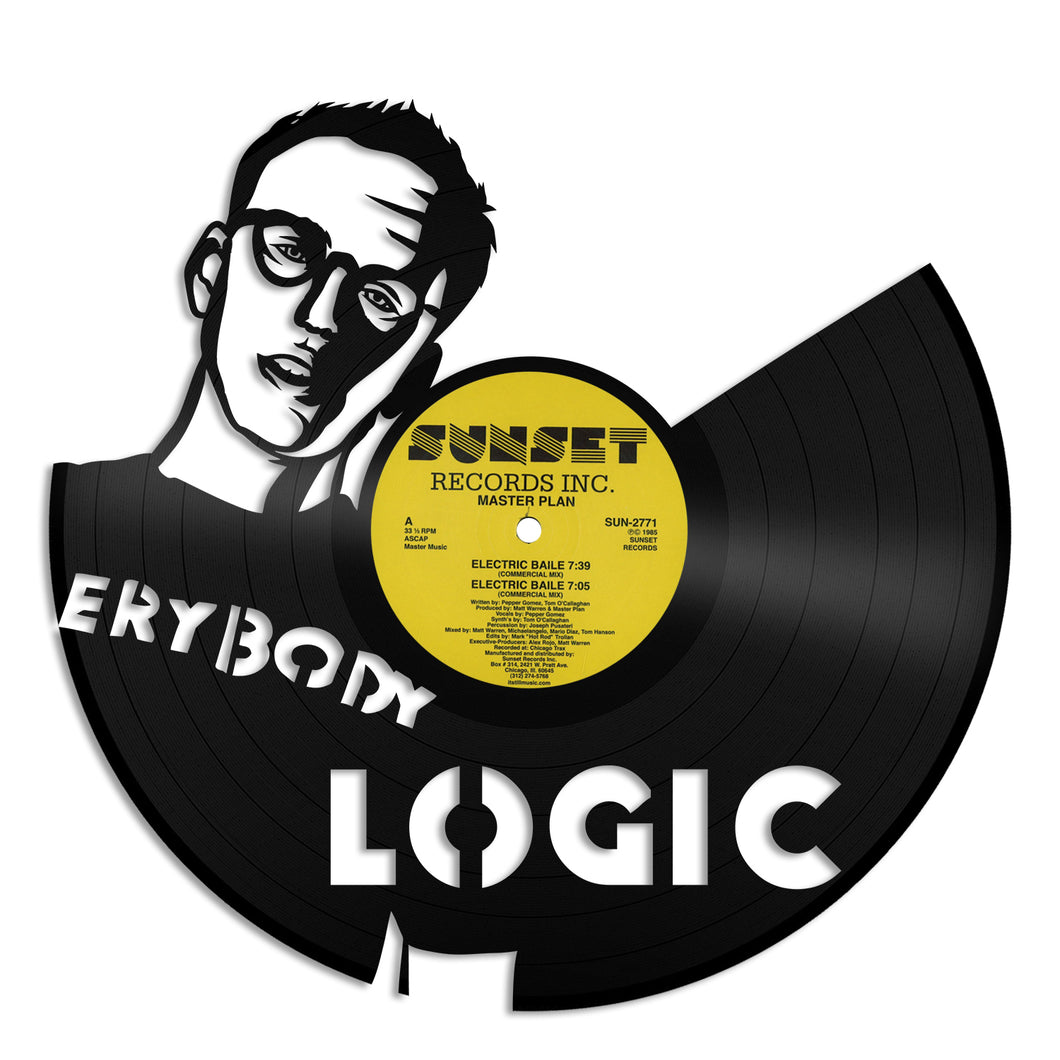 Logic Musician Design Vinyl Wall Art – VinylShop.US