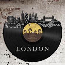 London New Vinyl Wall Art