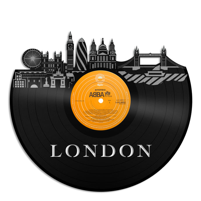 London New Vinyl Wall Art - VinylShop.US