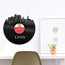 Lyon, France Skyline Vinyl Wall Art