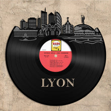 Lyon, France Skyline Vinyl Wall Art - VinylShop.US