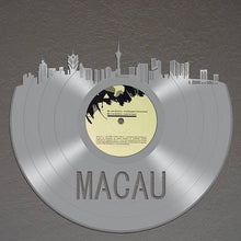 Macau Skyline Vinyl Wall Art