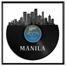 Manila Philippines Skyline Vinyl Wall Art