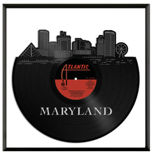 Maryland Skyline Vinyl Wall Art