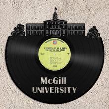 McGill University Vinyl Wall Art - VinylShop.US