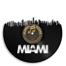 Miami Skyline Vinyl Wall Art - VinylShop.US