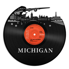 Michigan Skyline Vinyl Wall Art - VinylShop.US