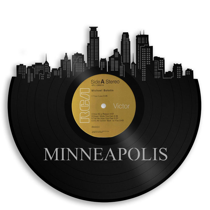 Minneapolis Skyline Vinyl Wall Art - VinylShop.US