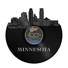 Minnesota Skyline Vinyl Wall Art