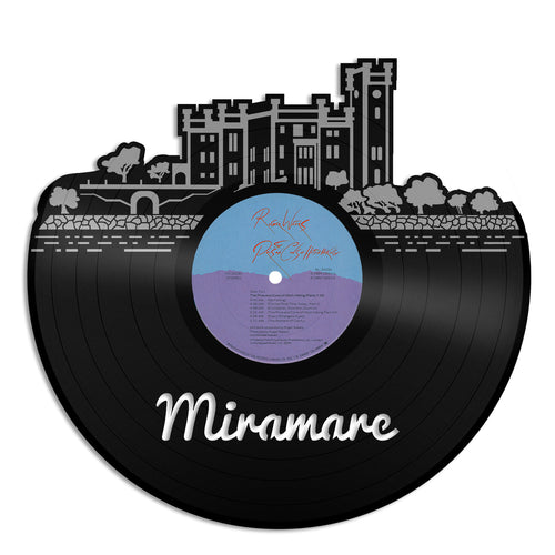 Miramare Castle Skyline Vinyl Wall Art - VinylShop.US