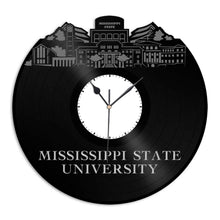 Mississippi State University Vinyl Wall Clock