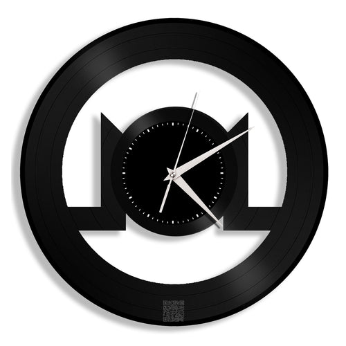 Monero Coin Vinyl Wall Clock - VinylShop.US