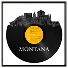 Montana Skyline Vinyl Wall Art