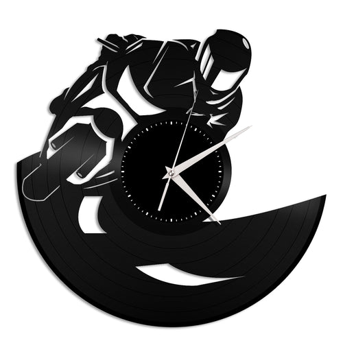 Bike Racing Vinyl Wall Clock - VinylShop.US