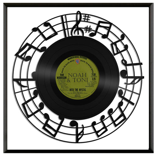 Music Notes Vinyl Wall Art - VinylShop.US