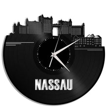 Unique Vinyl Wall Clock NASSAU