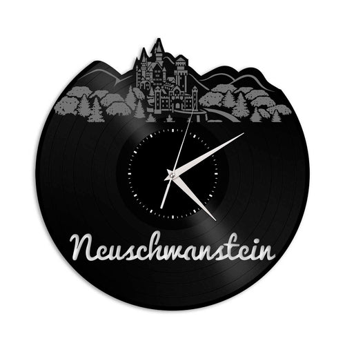 Neuschwanstein Vinyl Wall Clock