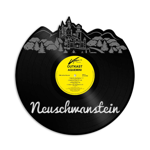 Neuschwanstein Skyline Vinyl Wall Art